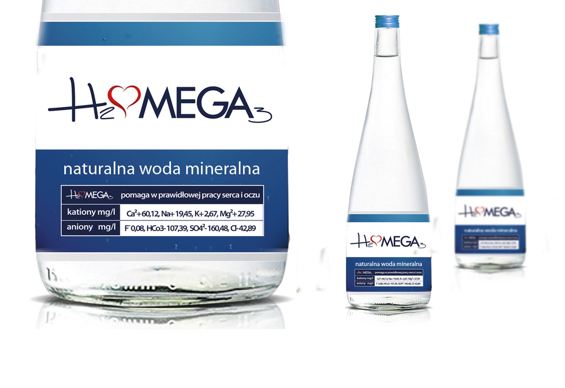 Naturalna woda mineralna Omega 3