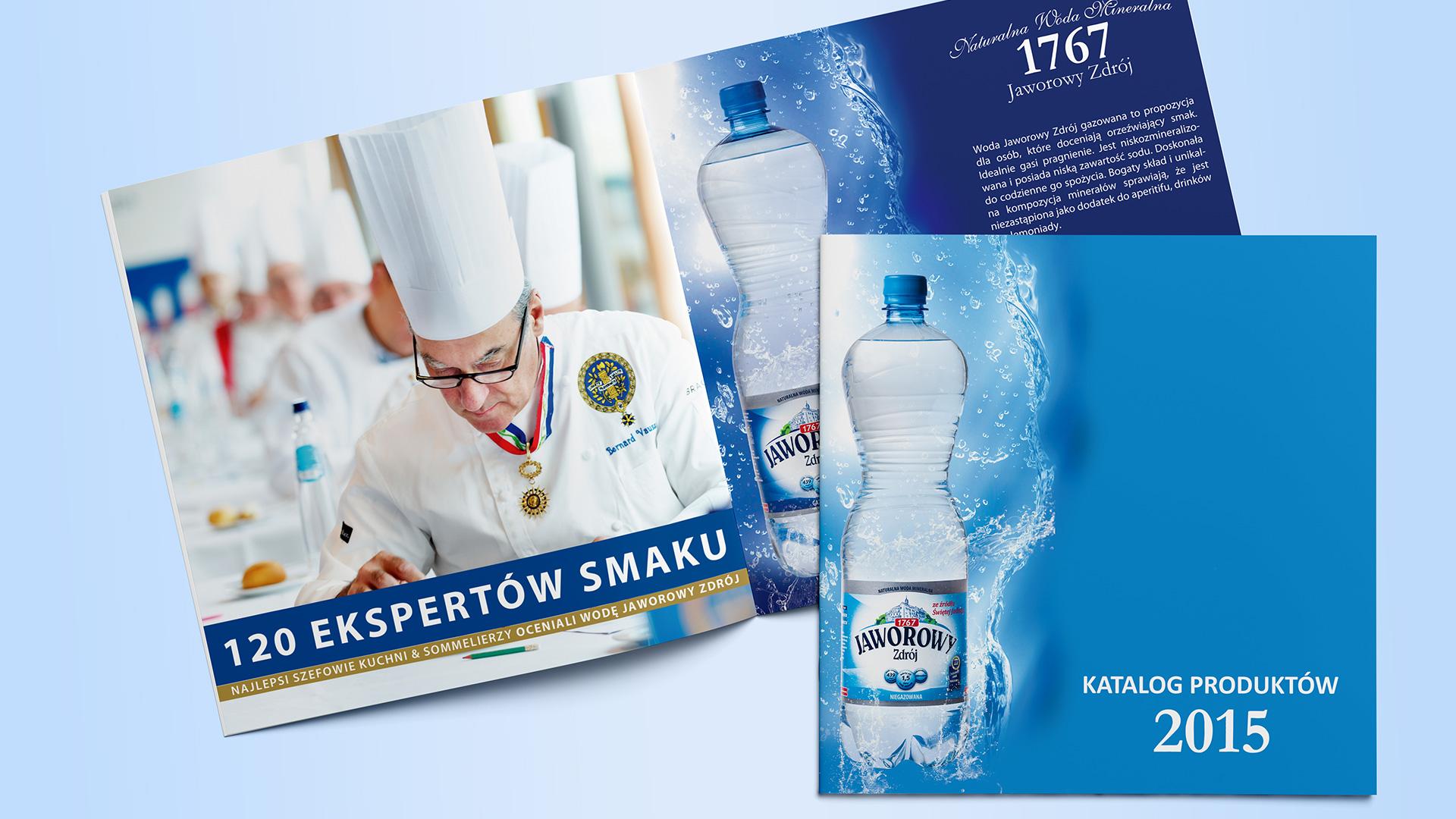 Katalog produktów Wody Mineralnej