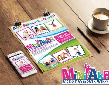 Mini Akro akrobatyka dla dzieci